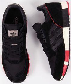 adidas Originals Boston Super: Core Black/Red