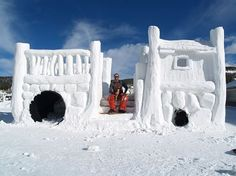Snow fort - Google Search
