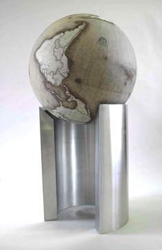 Bellerby & Co Curve Globe :: How the world really looks .... upside-down globe :: www.bellerbyandco.com