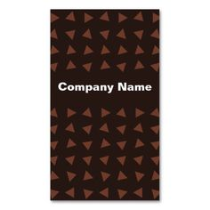 Brown Triangles Business Cards #simplebusinesscards #lovelybusinesscards #kreatr #businesscards #business #cards #trendybusinesscards #businesscard #uniquebusinesscards #popularbusinesscards #personalizedbusinesscards #custombusinesscards #customizablebusinesscards #professionalbusinesscards #thebestbusinesscards #topbusinesscards