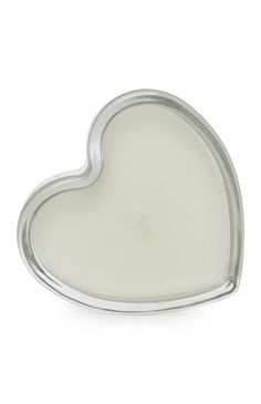 Primark heart shaped votive candle!