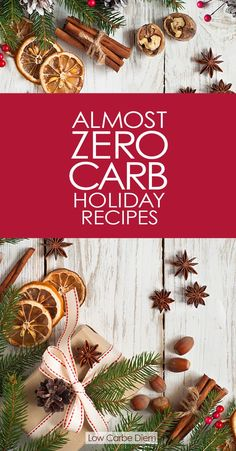Tighten your pants this year. Celebrate with 35+ Holiday recipes with almost no carbs: Drinks, sauces, spreads, gravy, bread, stuffing, starters, sides, main courses and of course - desserts. Please every palate and serve gorgeous keto holiday recipes.