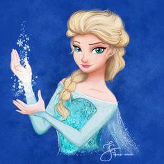 Elsa (Frozen) by tiannangel on deviantART