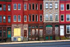 Abandoned Row Houses - Baltimore