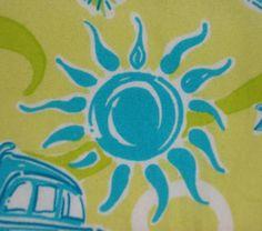 Lilly Pulitzer Dress Size 6 Ladies Green Blue Beach Cars Giraffe Monkey Palm Sun #LillyPulitzer #Shift #Casual