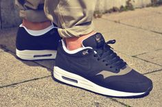 Nike Airmax 1 Black Smoke sneakers