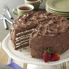 Chocolate/Whipping Cream Torte Recipe