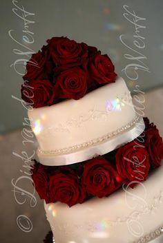 CAKE DETAIL AT KIRSTEY'S WINTER WEDDING AT WYNYARD HALL