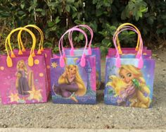 Disney Princesas 6 bolsas Favor fiesta de por FantastikCreations