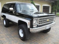 My 1979 Chevrolet Blazer build - The 1947 - Present Chevrolet & GMC Truck Message Board Network Old Chevy Pickups, Chevy 4x4, Jeep 4x4, Lifted Chevy, Gm Trucks, Cool Trucks, Pickup Trucks, Lifted Trucks, Diesel Trucks