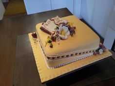 85 years - Birthday cake for a man