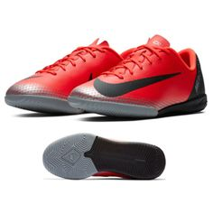 862522e64ddd7 Nike Youth CR7 MercurialX Vapor XII Academy Indoor Shoes (Red)    SoccerEvolution