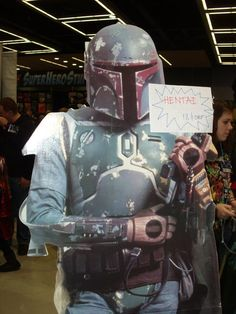 Boba Fett escaped the belly of the Sarlacc to...Sell hentai.