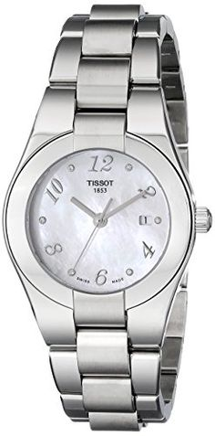 Tissot Womens T0432101111702 Glam Sport MotherOfPearl Dial Watch *** You can find more details by visiting the image link. (Note:Amazon affiliate link)