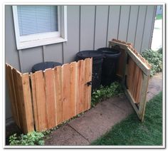 Image Result For Hiding The Garbage Cans In Plain Sight | Pillows |  Pinterest | Gardens, Garden Ideas And Landscaping
