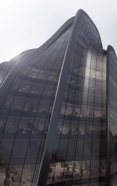 MAD's mountain-inspired Chaoyang Park Plaza breaks ground in Beijing