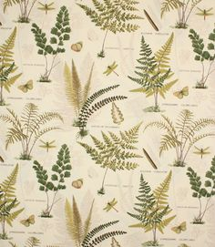 Bimba fabric is an unusual green fabric with a foliage design made from cotton/polyester. This curtain fabric is double width so is great for curtains where multiple widths are required (large curtains), also suitable for blinds and cushions. Buy online or visit one of our fabric shops in Burford, near Oxford or Cheltenham, Gloucestershire - in the heart of the Cotswolds. Why not take advantage of our made to measure service and have your curtains and blinds professionally made in our ...