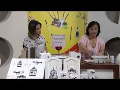Mulher.com 15/03/2013 Cleo Squarizi - Castiçal e quadro em madeira ripada parte 2 - YouTube