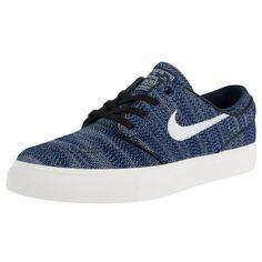 Nike zoom stefan janoski exp pqs skateboarding sneaker obsidian ivory  678420 401 227bcd81060