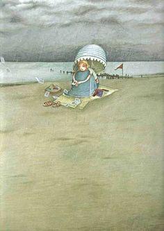 Иллюстратор детских книг Rebecca Dautremer (39 фото)
