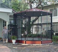 Aviaries - Cheek's Custom Cages