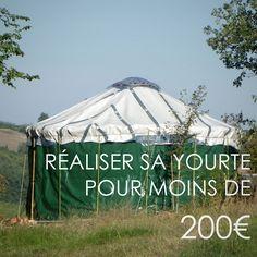 Réaliser sa yourte pour 200€