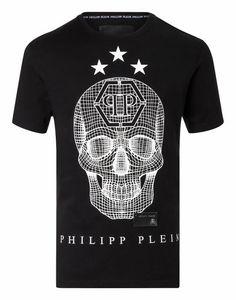 c380420b9da T-shirt Round Neck SS Say something Philipp Plein T Shirt