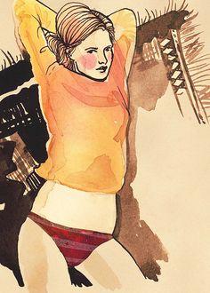 Samantha Hahn illustration.