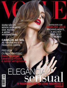 Angelina Jolie by Annie Leibovitz Vogue Portugal August 2008