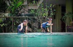 Mom! I wanna swim! :)