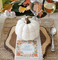 Pumpkin Soup Bowls. Via @HomeStoriesAtoZ