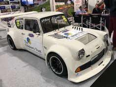 Ford Anglia - On Steroids! Hotrod For Sale, Ford Motorsport, Ford Anglia, Ford Classic Cars, Vintage Race Car, Race Cars, Slot Cars, Car Ford, Small Cars