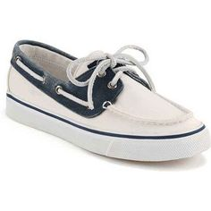 quality design 592b1 fe0f1 Sperry Womens Bahama WhiteNavy Performance Boating Shoes (23 OMR) ❤ liked  on