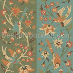Michael Uhlenkott Islamic Birds 1b: MU024I | Custom digital wallpaper and borders