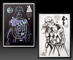 Star Wars Shooting Targets | DudeIWantThat.com