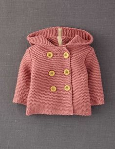 Mini Boden knitted jacket, too cute, and there's a free pattern on Ravelry that's so much like this...see my free patterns page (but you have to sign up for Ravelry :)