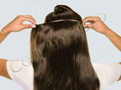 ProHair hair clip in hair extension is the perfect solution if you want to add volume and keep styling possibilities. The clip in hair extensions are directly clipped into your hair. Clip in hair extensions can be removed as fast as you can fix them in your hair.