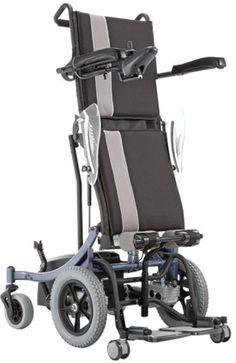 Kp-80 - Standing Chair : Karma latest power standing wheelchair is now available in India. Power Standing wheelchair - Increase your freedom Stand up again improve your independence and be find of your body #wheelchair