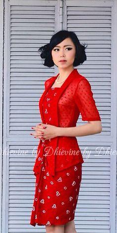 Busana batik on Pinterest | Batik Dress, Kebaya and Indonesia