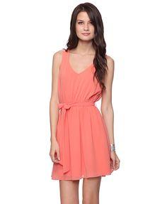 Sleeveless Dress w/Sash  $22.80