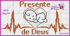 Filet Crochet Charts, Knitting Charts, Tiny Cross Stitch, Cross Stitch Patterns, Cross Stitch Silhouette, Plastic Canvas Patterns, Needlework, Tupperware, Oxfords