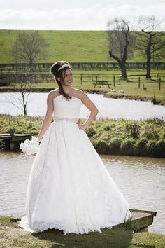 Bride at Alcott Weddings, Worcestershire, West Midlands, Wedding venue