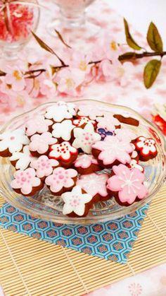 iphone壁紙 春を先取り♪花より団子の桜スイーツ画像集 - NAVER まとめ