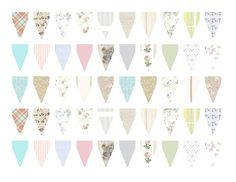 More cake bunting ideas