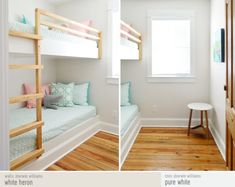 Beach house bunk room paint colors and sources