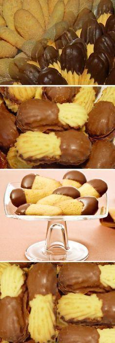 Después de probar estas galletas Lenguas de Gato, ya no volveremos a comprar a la panadería. ¡La familia entera le gusta mucho! #galletas #lenguasdegato #microondas #comohacer #receta #recipe #casero #torta #tartas #pastel #nestlecocina #bizcocho #bizcochuelo #tasty #cocina #chocolate #pan #panes Si te gusta dinos HOLA y dale a Me Gusta MIREN … Bakery Recipes, Cookie Recipes, Delicious Deserts, Pan Dulce, No Bake Desserts, Cake Cookies, Sweet Recipes, Food To Make, Sweet Tooth