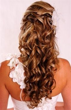 I think this might be too curly to wish for, but it's pretty!