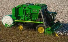john deere cotton picker | the 7760 round module builder is the next generation cotton picker ...