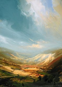Distant Valley, James Naughton (contemporary)