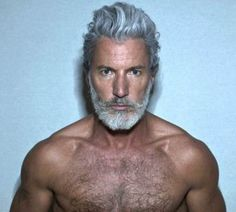 Men's Toupee Hair Hairpieces for Men inch Thin Skin Hair Replacement System Monofilament Net Base Mix Grey Hair) Hairy Men, Bearded Men, Men Beard, Silver Foxes Men, Beard Images, Handsome Older Men, Older Man, Mens Toupee, Grey Beards